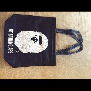 A bathing ape tote bag